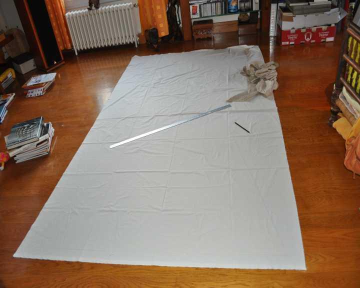 ulmo fabrication des voiles du bateau jouet la mascotte. Black Bedroom Furniture Sets. Home Design Ideas