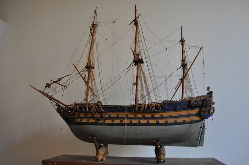 maquette du voilier france 5 mats vers 1930 Antiquites en France