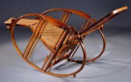 Ulmo Egg Rocking Chair Au 1 12 Eme Avec Didier Wetzel